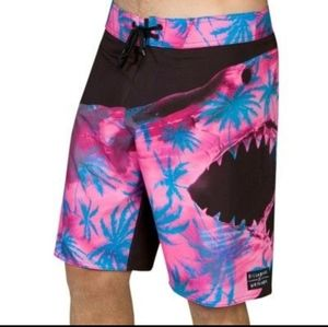 Billabong White Mike Sweet Tooth board shorts, 38